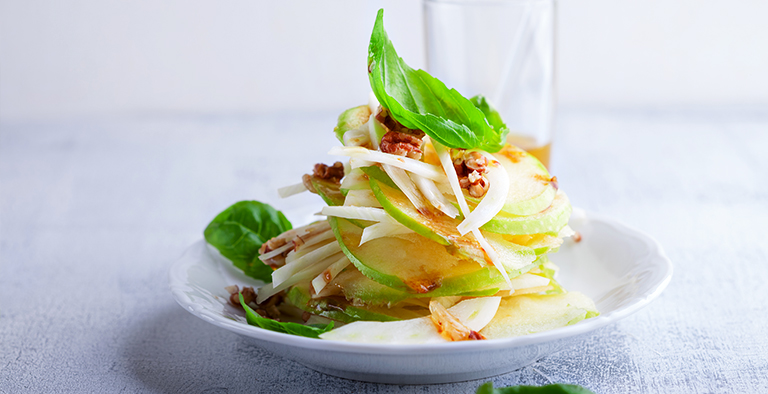 [RECEPT]: Venkelsalade met appel en walnoten