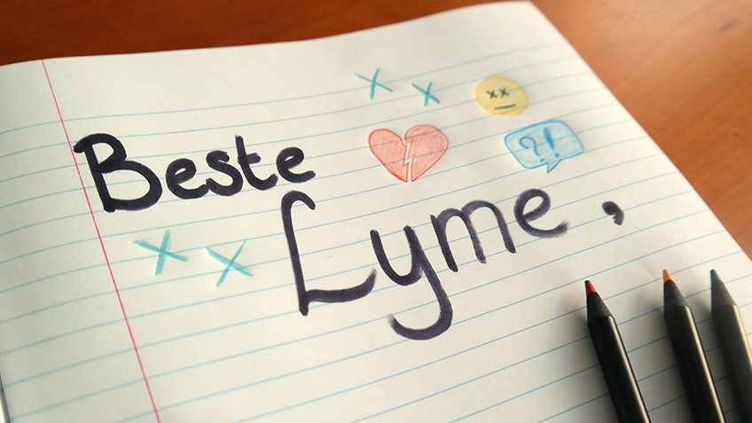 Brief aan Lyme